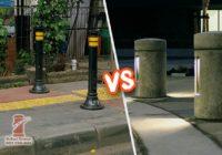 Bollard Besi Cor vs Bollard Beton Cor