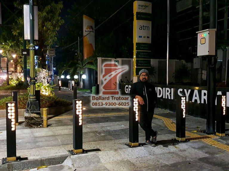Bollard Lampu Pedestrian Jogja