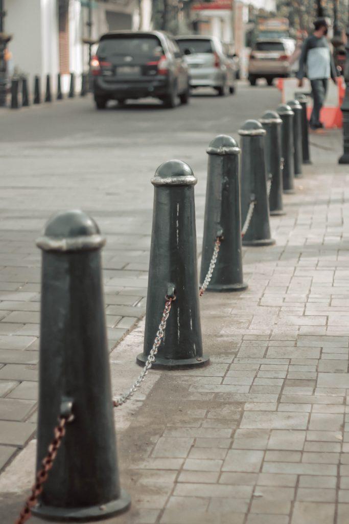 Bollard Trotoar Pembatas Jalan