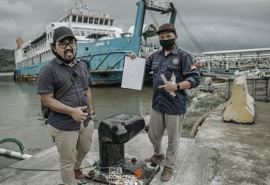 Bolder Pelabuhan Lembar Lombok